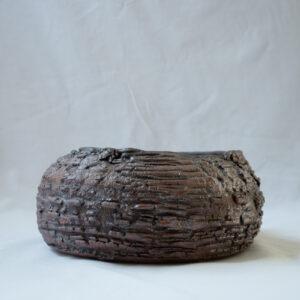 פרסי - קערת הגשה חומה גודל בינוני