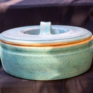 טל - קדירת בישול נמוכה בצבע טורקיז