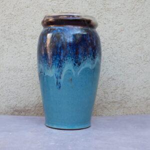 אגרטל כחול