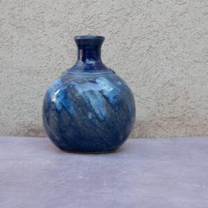 אגרטל כחול - אסימטרי
